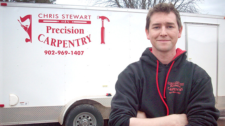Turning a passion for building into a carpentry business