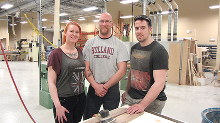 Many Wood Manufacturing/Cabinetmaking graduates start their own business
