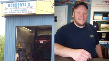 Docherty's Auto Service – Hiring practices: Owner Jason Docherty