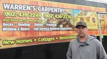 Warren Carpentry owner says he loves his profession