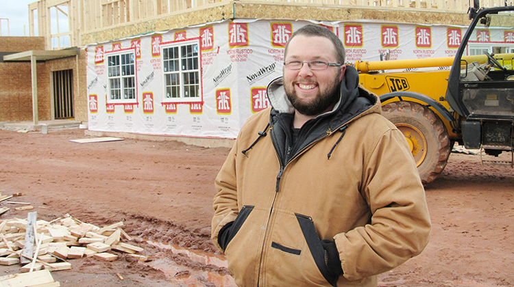 A construction business startup on PEI