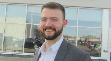Recent graduate benefits from posting his profile on WorkPEI.ca