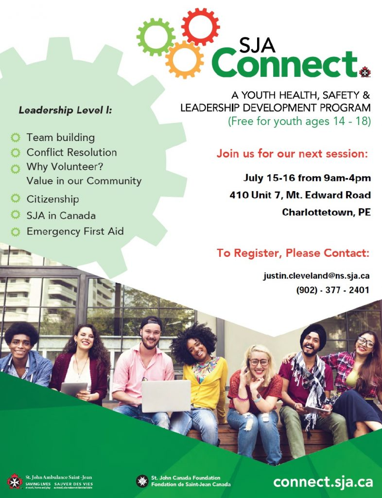 SJA Connect (Leadership Level 1) for Youth @ St. John Ambulance