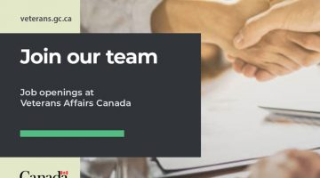 Employment opportunities at Veterans Affairs Canada