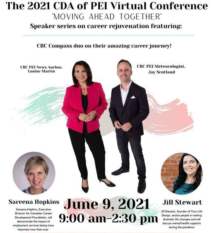 """Career Development Association of PEI Conference """"Moving Ahead Together"""" @ VIRTUAL EVENT"""