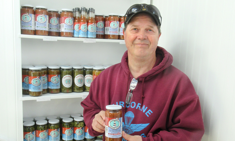A longtime gardening hobby becomes a successful home-based business